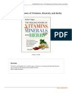 Doc the Healing Power of Vitamins Minerals and Herbs