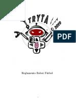 TRYTA_Reglamento Robot Fútbol 2019