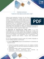 Presentación del curso Diplomado de profundización CISCO CCNP