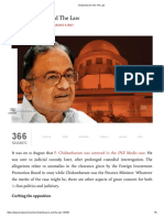 Chidambaram and the Law