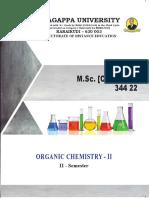 2_ M_Sc_ (Chemistry) - 344 22 - Organic Chemistry-II
