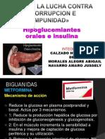 FARMACOS HIPOGLUCEMIANTES
