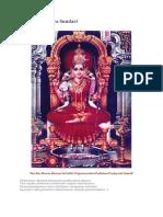Sri Chakrarchana