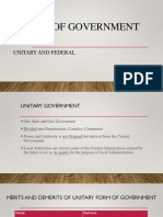 5A. Forms of Government