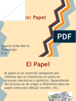 ppt procesoporoductivo papel