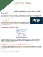 Désintaller Proprement Ubuntu Ou Autre ...Ide Informatique Et Tutoriels - Ikewdu