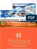 Basic Web Design Principles and Elements