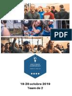 EFC - 3ème Édition 2019 - Info Athletes