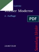 Lorenz Wiener Moderne