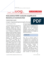 ISUOG Ultrasound Assessment of Fetal Biometry and Growth Spanish