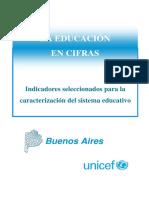 indicadores de la educación en la provincia de buenos aires