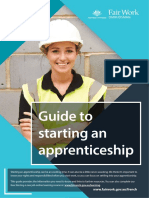 Guide to Starting an Apprenticeship