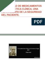 Estabilidad de Medicamentos en La Práctica Clínica
