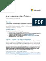 DAT101x Lab 4 - Machine Learning