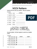 Vowel Consonant Pattern