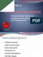 Keperawatan Gerontik Kel 6