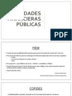 Entidades financieras públicas España