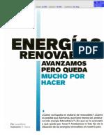 Sector Energético Renovable España