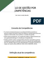 Modelo de Gestão Por Competências