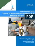Boletn Tcnico ICCG - 06 Ensayos no destructuvos para evaluacin de la resistencia del concreto .pdf