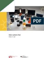 Gtz2009 en Solar Lanterns Test