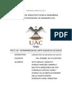 DETERMINACION DEL LIMITE LIQUIDO DE LOS SUELOS.docx
