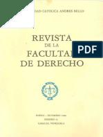 Revista de Derecho 41 UCAB