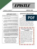 EPISTLE 2008-06