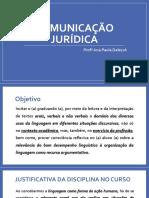 Comunicaçãojurídica_aula1e2