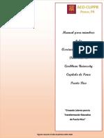 Manual Para Miembros AEDCUPPR