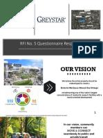 Greystar Response to City of Miami RFI No.5 8.12.19