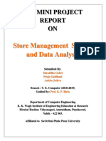 Store management system report