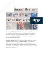 Historia Panamá Tarea