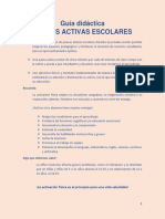 PAUSAS ACTIVAS GUIA DIDACTICA