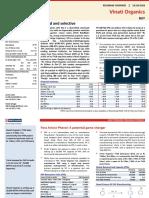 HDFC Sec report on Vinati Organics