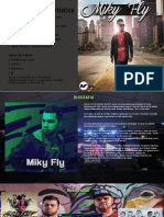 Brochure Miky Fly - calle 27 studio