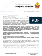 Carta Asesor Especialidades