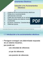 Accionamiento eléctrico