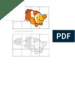 Puzzle - peixe laranja