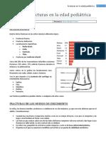 E11. Fracturas en Niños (T11)