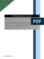 Die Bitumendachsanierung DIME Bautenschutz Systeme