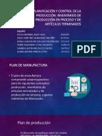 Clase - Planificacion y Control de Produccion