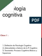 Clase 1 PSC. Cognitiva (1)