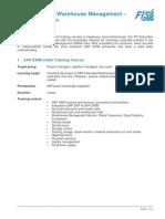 Training Documentation SAP EWM En