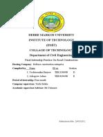 Yeshi Revised Internship Report
