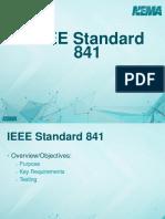 7 IEEE Standard 841 Overview v2