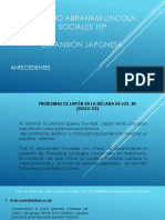Presentacion Japon en Los 20