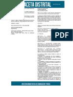 estatuto tributario distrital