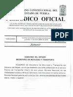 Periódico Oficial del Estado de Puebla