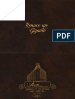 Brochure del hotel Aristi de Cali